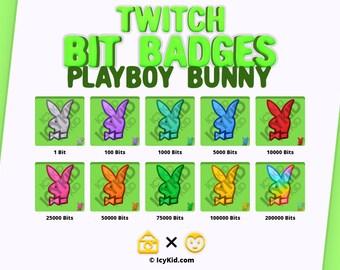 Twitch Bit Badges - Playboy Bunny