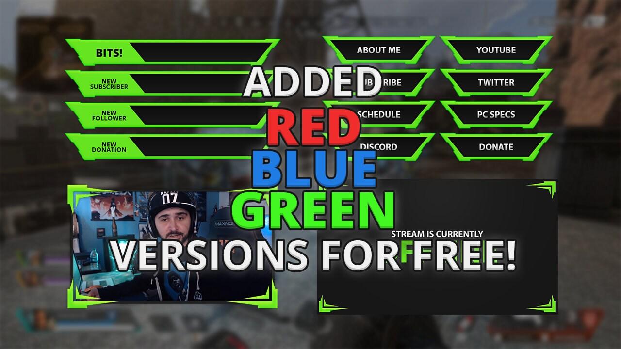 Sharpie Overlay Red/Green/Blue