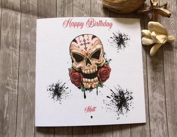 Personnalisé 30th carte d/'anniversaire garçon homme ami fils père neveu frère cousin