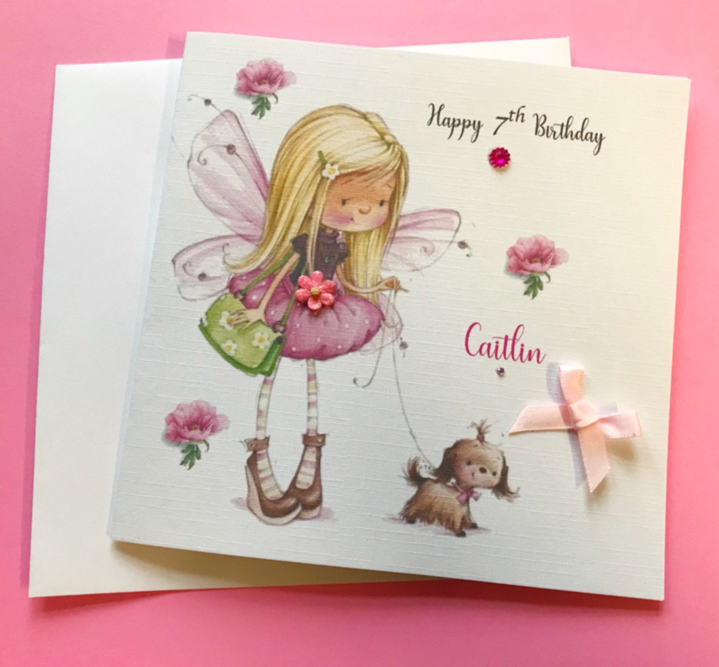 Me To You//Wishing Well Birthday Cards for Daughter,Goddaughter,Grandaughter etc