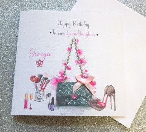 Birthday Card Female Make Up Friend Mum Daughter