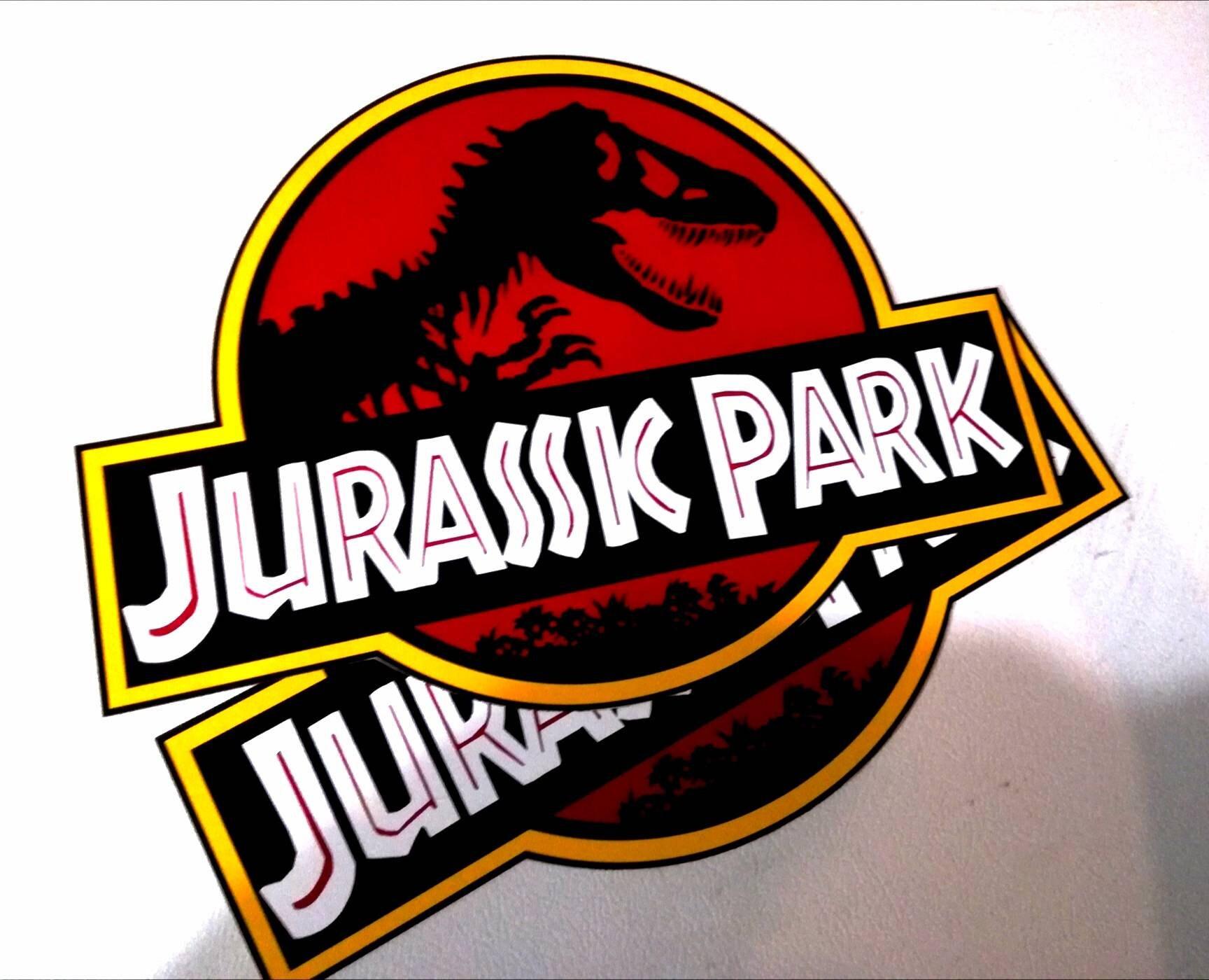 Jurassic Park Door Vinyl Decal sticker Kit Jeep Rubicon ...