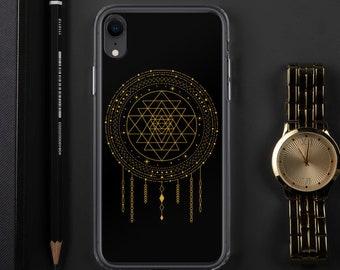 Sri Yantra | Sacred Geometry Case | iPhone 7|8|X|XS|XR|SE|11|12 Pro Max | Samsung Galaxy S10|S20 | Mandala | Spirituality | Christmas Gift