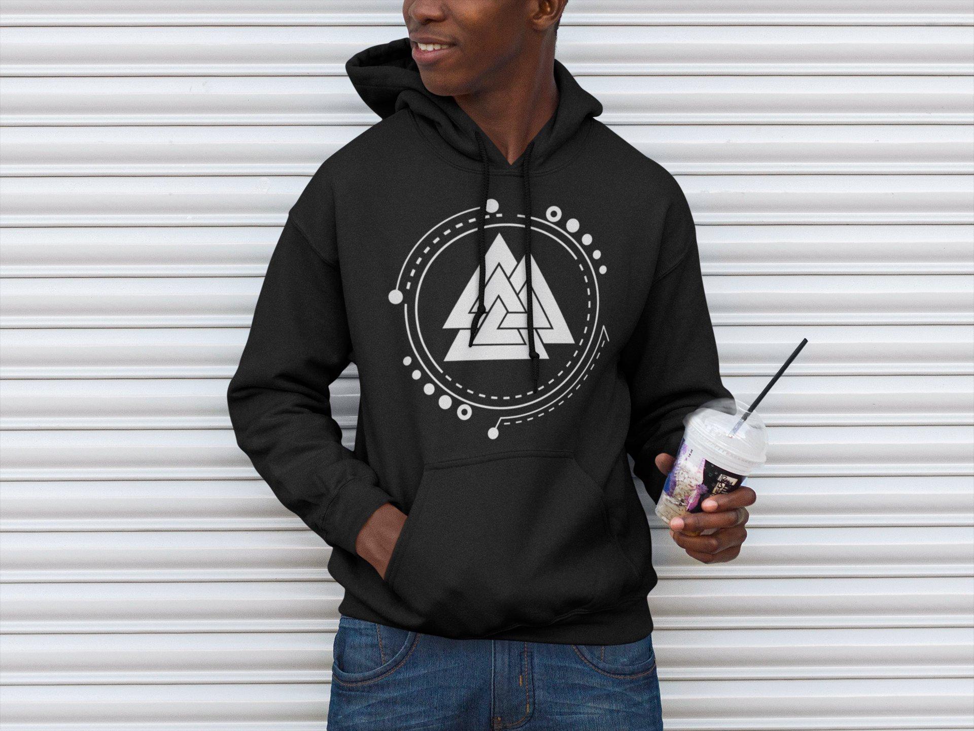 79266d8a Valknut | Norse Pagan Symbol | Unisex Heavy Blend Crewneck Sweatshirt /  Hoodie | Viking Clothing | Odin's Knot | Father's Day Gift | Heathen