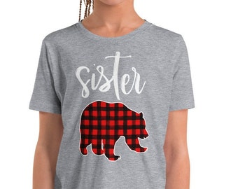 Sister Bear Shirt for Girls f2be24640