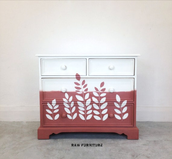 Magnificent Pine Scartop Chest Of Drawers Hand Painted In Annie Sloan Chalk Paint Scandinavian Pink And Original Colour Bedroom Furniture Download Free Architecture Designs Itiscsunscenecom