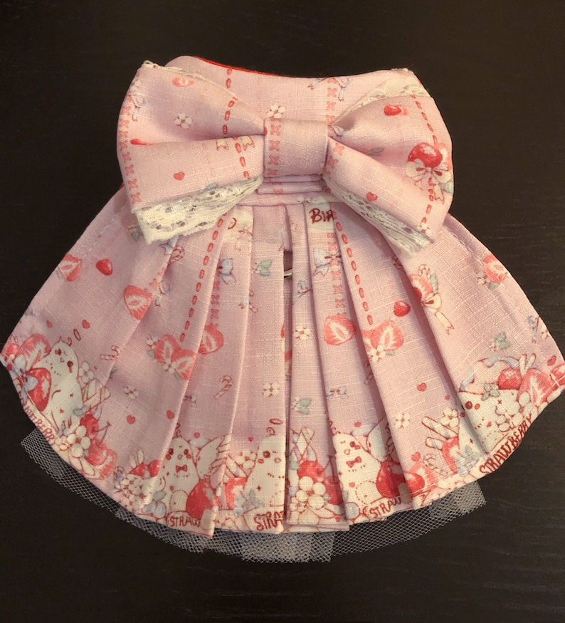 Limited Handnade Japanese Lolita Dress Small Pet Harness image 0