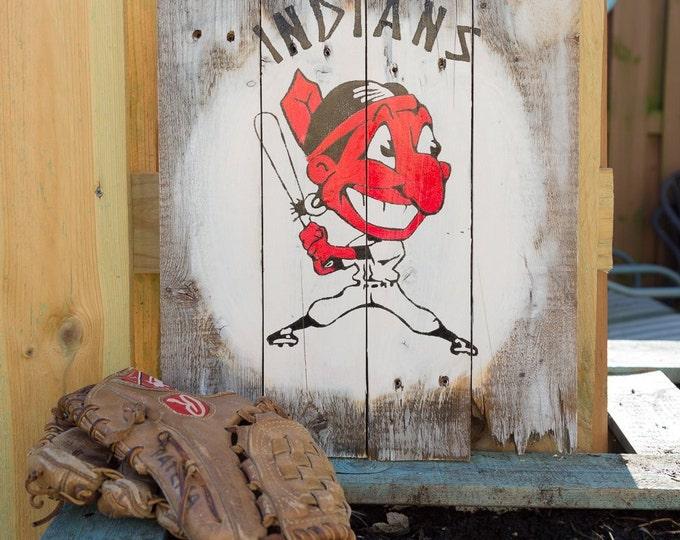 Vintage Chief Wahoo Batter