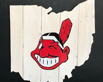 Cleveland Indians Winking Chief Wahoo