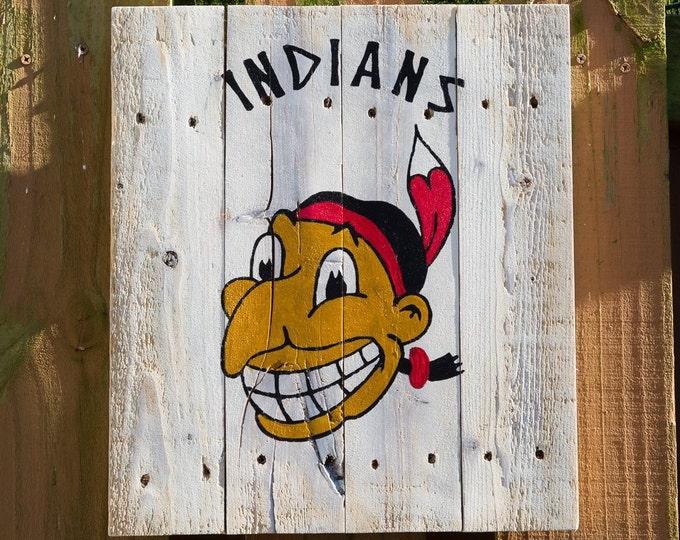 Cleveland Indians Vintage Wahoo.