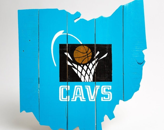 Cleveland Cavaliers Ohio Cut Out