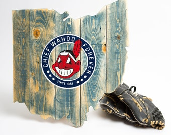 Chief Wahoo Forever Ohio Cutout