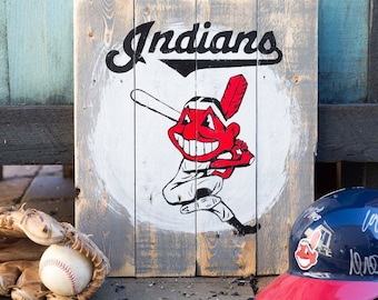 Cleveland Indians Chief Wahoo Batter