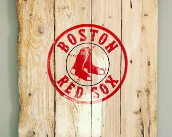 Boston Red Sox Pallet Sign