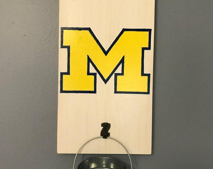 Michigan Bottle Opener with cap catcher