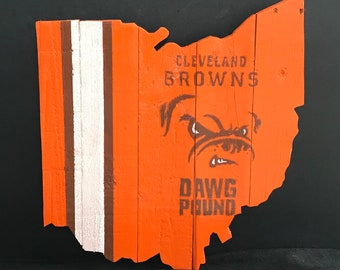 Cleveland Browns Ohio Cutout