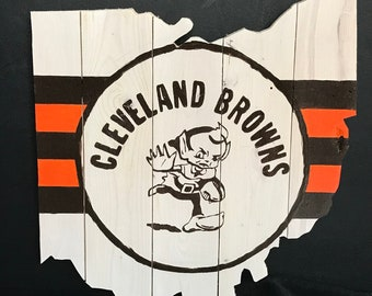 Cleveland Browns Ohio Cut-Outs