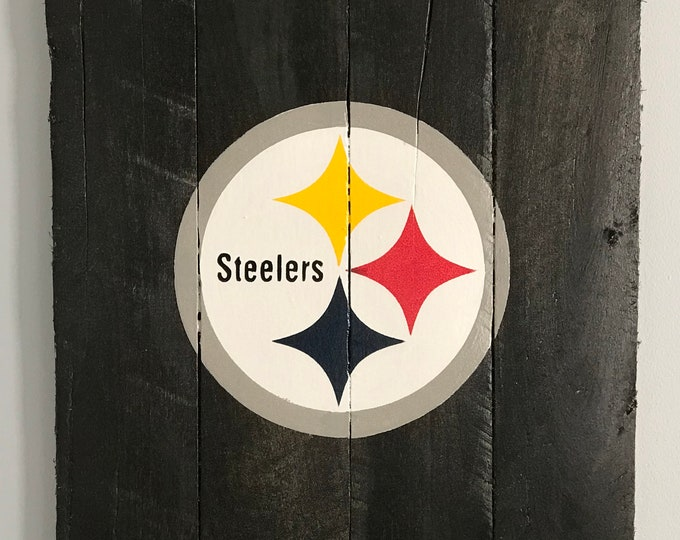 Pittsburg Steelers Pallet sign