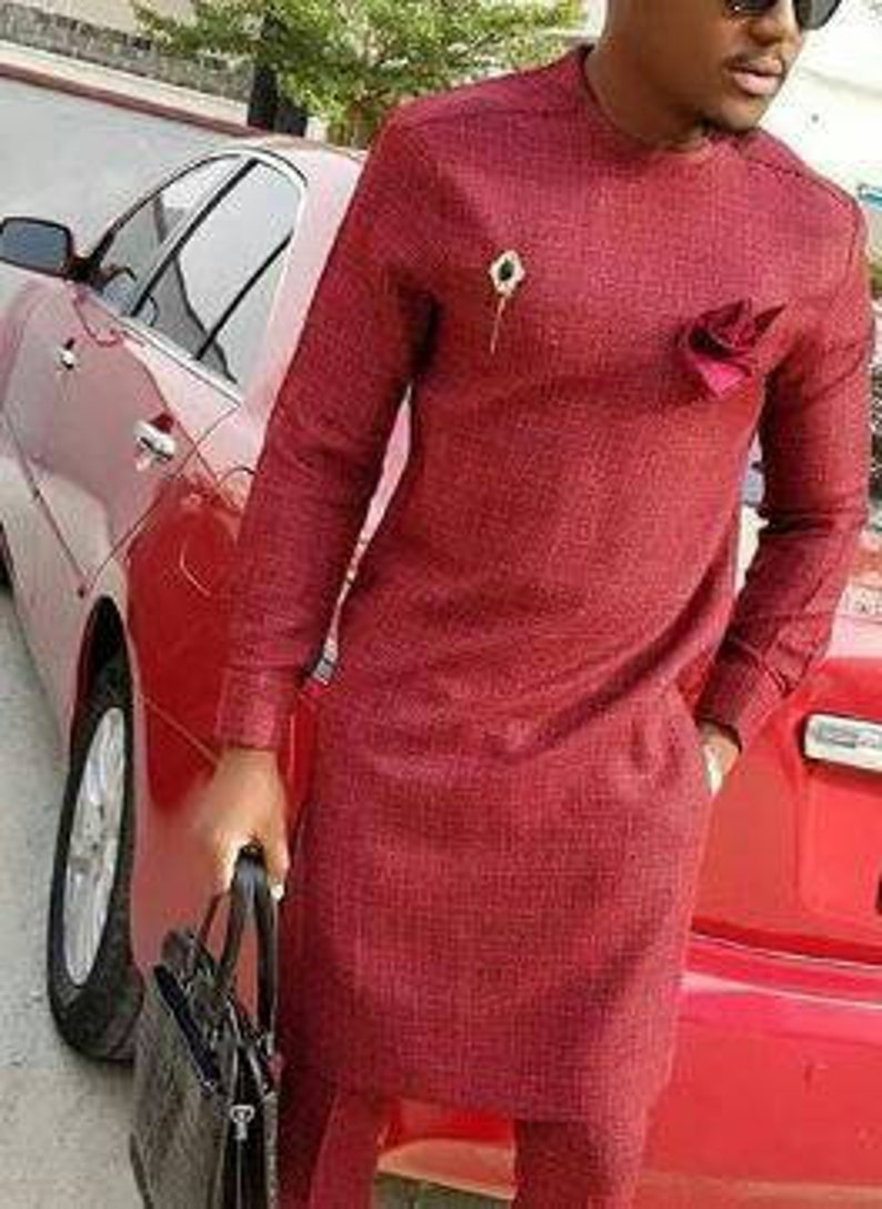 4233bea36 African men dashiki/ wedding suit/ Ankara styles/African | Etsy