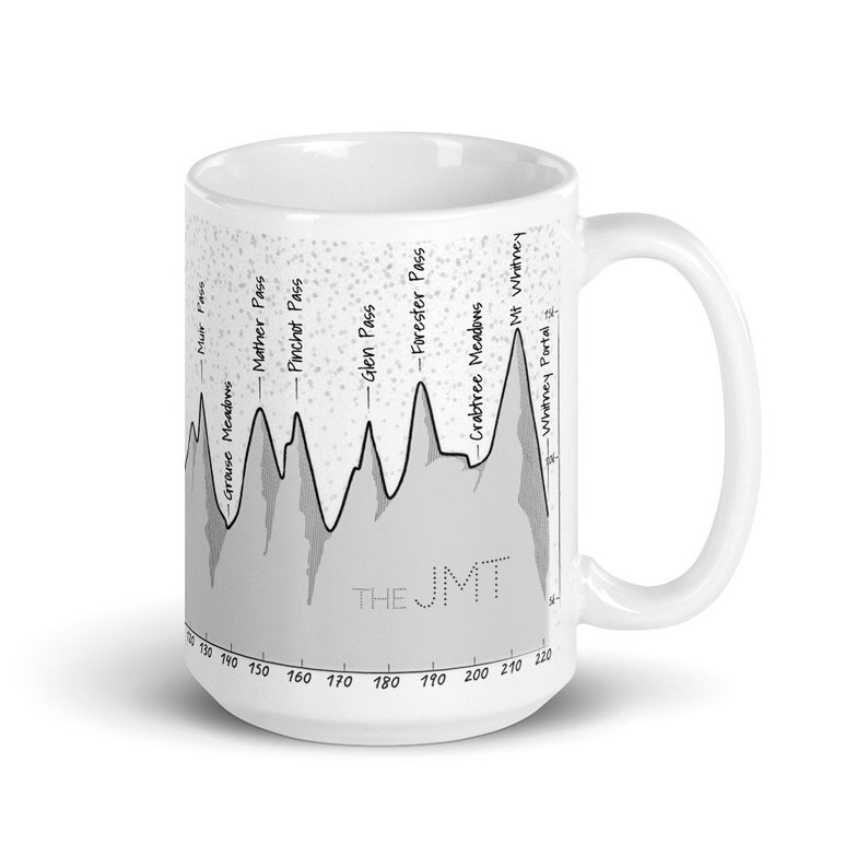 Trail Mug Series  John Muir Trail The JMT image 0