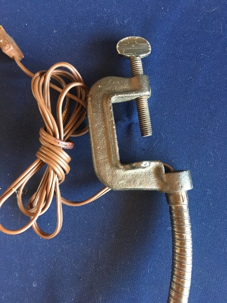 Industrial Lamp with clamp