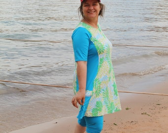 276e379de39 Modest swim dress for mom