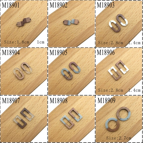 GUFEATHER M321,jewelry accessories,jewelry making,accessory parts,charms,hand made,jewelry findings,bamboo pendant,diy earrings,6pcsbag
