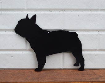 Beware Of French Bulldog Rustic Sign SignMission Classic Plaque Decoration