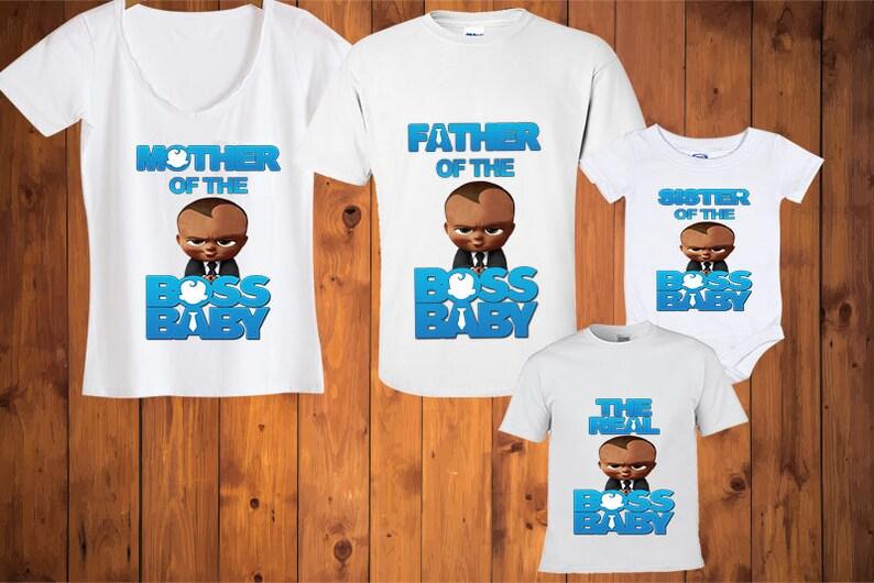 d839f1024 Boss Baby TshirtsBoss Baby African American t-shirts Boss | Etsy