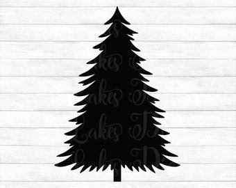 Christmas Tree - Instant Digital Download, svg, ai, dxf, eps, png, studio3, and jpg files included! Winter, Christmas, Pine Tree, Evergreen