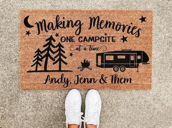 Making Memories Doormat  Campsite  RV  CutsncraftsbyTrang