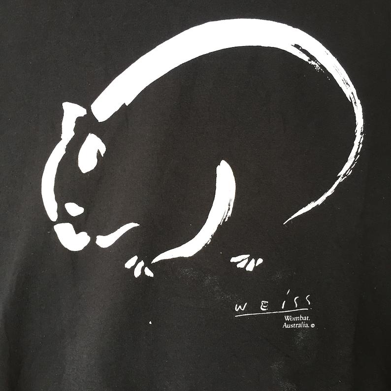 Weiss Wombat Australia SweatshirtSmallsizeBlackArt Designer !