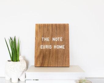 Wood Letter Board Etsy