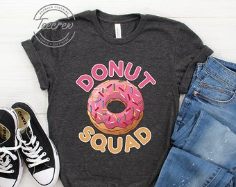 78c756ba2 Donut Squad Shirt, Donut Birthday, Donut Squad, Donut Lover, Pink Donut  Squad Shirt, Doughnut Shirt, Group Donut Shirt, Donut Fan