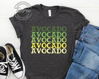 5dac3396 Avocado Color Shirt, Avocado Gift, Vegan Shirt, Avocado Lover, Avocado  Party, Guacamole, Vegetarian, Vegan Gift, Avocado Gift