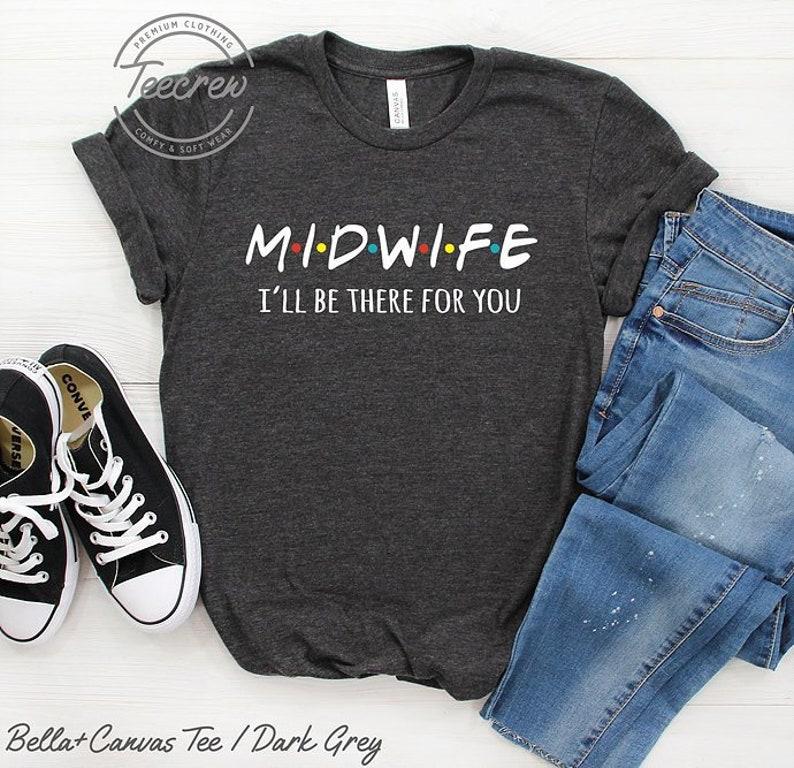 afd09983a6193 Midwife Shirt Nurse Shirt Baby Catcher Shirt Breastfeeding | Etsy