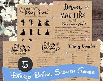 b50a4558189 Disney bridal shower