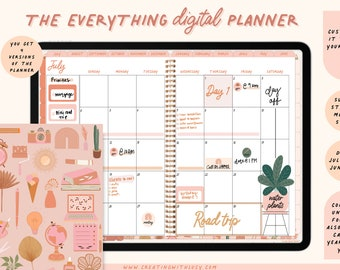 Everything Digital Planner | Build your own digital planner | Base Planner | Academic digital planner Goodnotes 5 | 2021 - 2022 | Undated