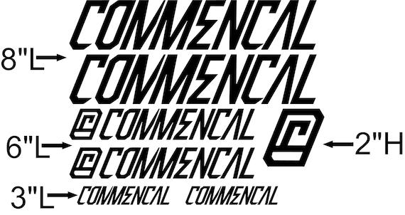 Autocollant d/écoratif de v/élo Ensemble dautocollants de v/élo en Vinyle COMMEN/ÇAL Autocollants Cadre v/élo Autocollants de v/élo