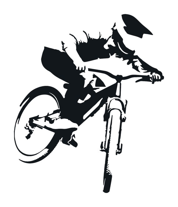 CYCLING USA Riding Bicycle Oracal Vinyl Sticker Decal