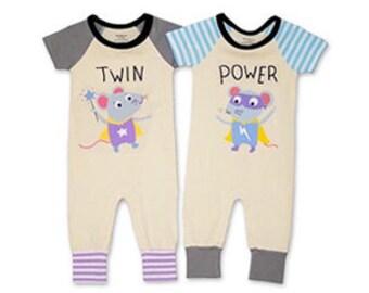 York//London Twin Boys Clothing Set