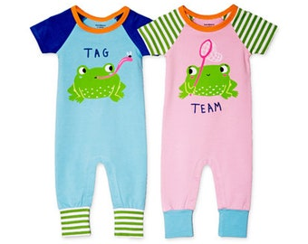 Twoborn™ Twin Clothing Set - Tag Team (Boy Girl Twins) aa98d78920d7