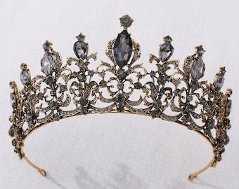 Baroque Crown Wedding Diadem Dress Accessories