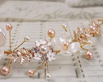 Bride wedding headband