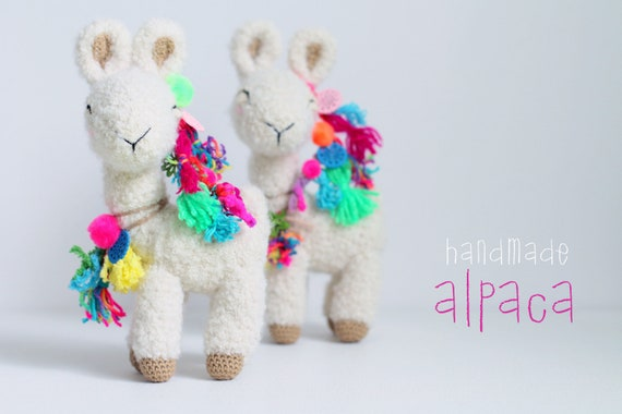 Fluffy the Alpaca-Llama Amigurumi Crochet Pattern. $3.00, via Etsy ... | 380x570