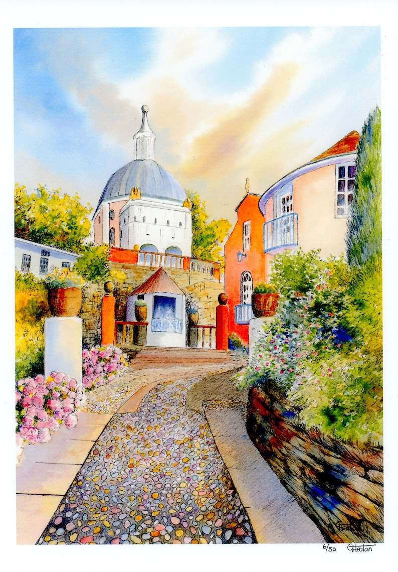 Portmeirion 'The Dome' Very limited edition print image 0