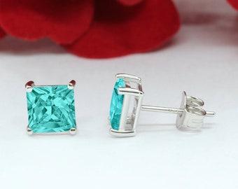 Party wear Paraiba Colour Tourmaline /& Yellow Tourmaline Gemstones 925 Solid Sterling Silver Designer GirlsWomen Dangler Earring Jewellery