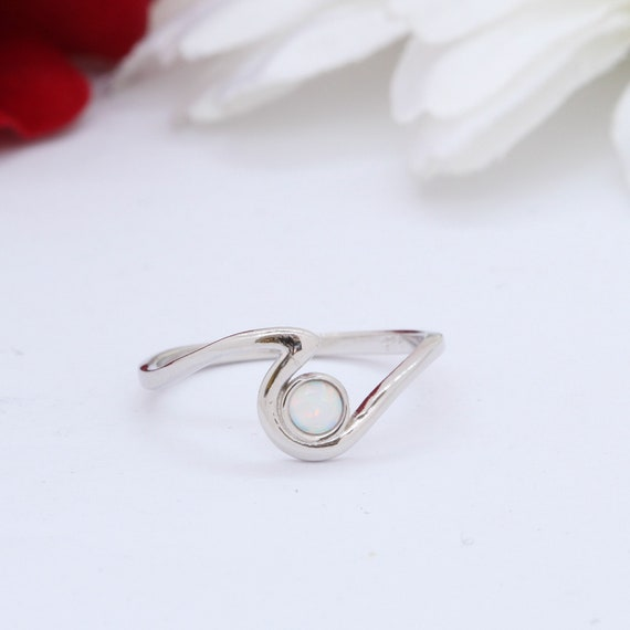 Dolphin Wave Band Ring Ocean Summer Wave Ring Solid 925 Sterling Silver 11mm Dolphin Wave Wave Band