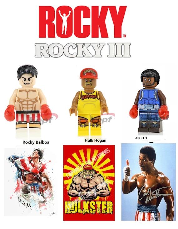 Rocky Balboa block figurine