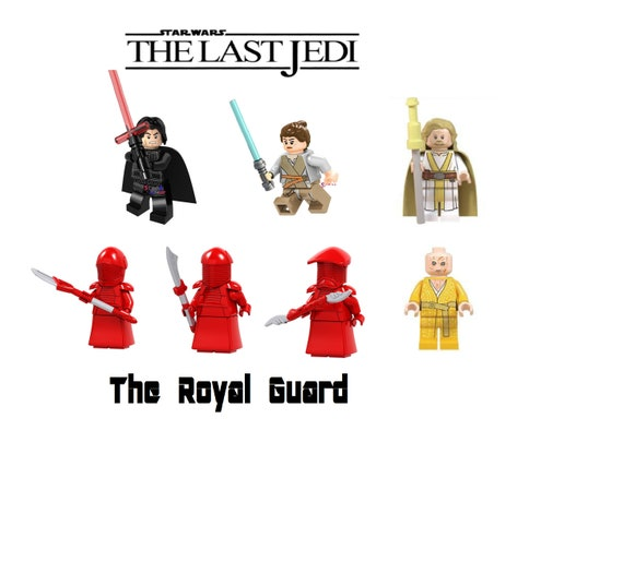 LEGO Star Wars Minifigures Custom Imperial guards red Sky walker X 2 FREE P/&P